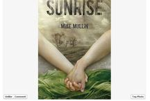 Win a set of SUNRISE page proofs / Pictures of every entry in my SUNRISE page proofs contest. Contest details here: http://mikemullinauthor.com/2014/01/17/win-a-signed-sunrise-manuscript/ Winner will be selected on 1/27/14