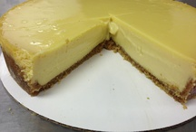 Pies & Cheesecakes / At our new retail location, we will be offering a variety of pies cheesecakes.