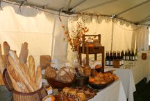 The Beautiful Bounty of Farmers' Market /  Fleur De Lis Bakery & Cafe is at the Hollywood Farmers' Market, May - November, and other markets throughout the season with our breads and fine pastries.