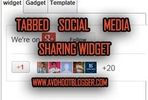 Blog Gadgets and Widgets