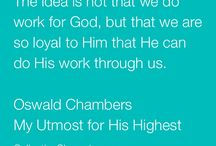 Oswald chambers quotes