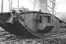 Mark I, el primer prototipo de tanque / Mark I, el primer tanque del mundo fue creado por el ejército británico durante la ejecución de la primera guerra mundial con la intención de obtener una ventaja táctica sobre la nación enemiga Alemania.
