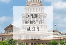 Austin Attractions / The best things to do, see, and explore when traveling to Austin, Texas! See them all: http://www.ruebarue.com/austin