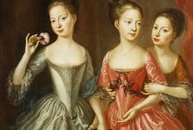The color pink in 18th century fashion