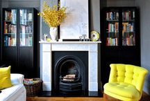Mellow yellow for 2017 / This years top colour trend for interiors yellow