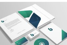 corporate identity / Creative and very inspiring ideas for corporate identity and branding.