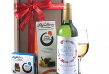 Christmas | Gifts / You can't beat a gift of wine and chocolates! Our wine gifts come with a unique label designed in-house by Smart Gift Solutions! Many of the wine labels are personalised making your gift more personal and memorable.  Combined with Lily O'Brien's scrumptious chocolates and smartly presented in a smart gift box with ribbon this is the perfect gift!