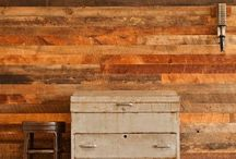 Reclaimed Wood Wall / Salvage Works produces a beautiful reclaimed wood wall cladding product called WOW Wall.  Perfect for a unique accent wall in your home or business.  Available Online and in our shop 7 days a week.