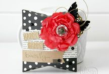 SU Square Pillow Box Thinlit / Fun projects created featuring the Stampin' Up! Square Pillow Box Thinlits Dies. Carol Lovenstein www.pinkstampagne.com