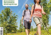 Prospekte - Urlaub in der Eifel / Hier finden Sie Prospekte zu Ausflugszielen in der Eifel und im Bitburger Land, Rad- und Wanderkarten etc.