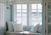 Window nook and seat / window spaces. window nook. window seat