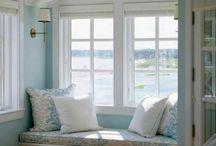 Window nook and seat / window spaces. window nook. window seat