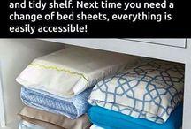 Housekeeping hacks