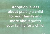Why should you Adopt? / Adoption is a wonderful experience for parents and the child. Here are many resources and reasons why a person should look into adoption!