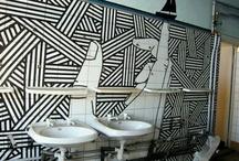 Tape Art Murals
