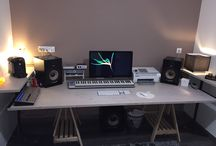 My Big Desk Room / Working place for Geek/Musician and More