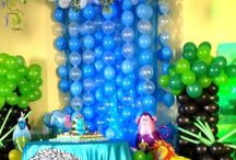 Globos piñatas