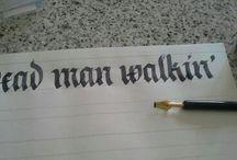 Handmade lettering & art