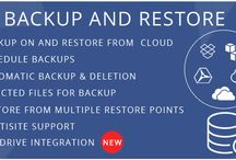 Backup And Restore / Backup And Restore is a WordPress plugin through which you can take or schedule backup on a local server or cloud servers including Dropbox, Google Drive, and Amazon S3. You can restore your whole site including a database on any of existing restore points with just a click. Downloading of your WordPress site, database and all of your backups are also possible which can be restored through the zip file and the SQL file.