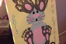 Bunny Hop, Easter Board-Crafts