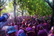 La Batalla Del Vino Wine Fight in Spain