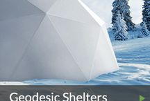 Geodesic Dome Portable Emergency Shelters / We've taken the geodesic dome a step further to make a portable, user-friendly, efficient emergency shelter that's just right for families.