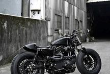 Motorbikes / Bikes of course!