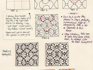 Zentangle pattern tutorial