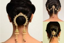 Hairstyles and accessories