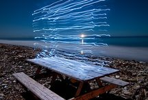 Light Painting / Long shutter speeds enable photographers to capture otherwise ephemeral light trails