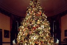 Classic christmas trees / beloved christmas decorations