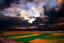 Clouds, lightning & rainbows  / by Deborah Brown