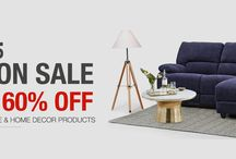 END OF SEASON SALE!! / Up to 60% off on 50,000+ Furniture and home Decor products.