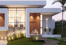 Fachadas residenciais