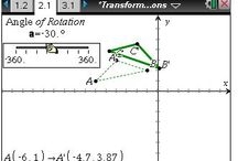 Geometry / Geometry lessons and tools to help you guide your students to understanding key math concepts with the power of TI technology. / by Texas Instruments Education Technology