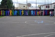 Playground murals