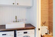 Laundry/shower room