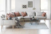 sofa og møbler til huset