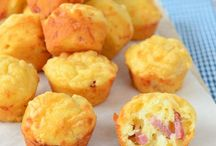 bacon kaas mini muffins