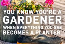 Garden Humour / Showcasing the humour of gardeners, indoor and out !