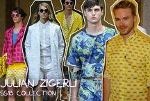 Fashion show - men / Milan and Paris fashion week