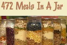 meals in a jar / by Diane Stokes