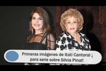 Primeras imágenes de Itatí Cantoral ¡para serie sobre Silvia Pinal!