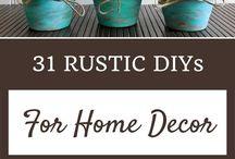 rustic DIY