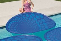 Solar pools heating