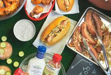 """Chef'd + Bolthouse Farms / Bolthouse Farms, Chef'd and NFL Players Kyle Rudolph and Chad Greenway team-up to bring fans the ultimate """"Big Game Party in a Box"""" experience."""