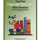 Copyright Information / by Valerie Donaldson