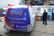 R  e c e n t W o r k / Recent work from ABC Inflatables