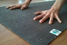 Our Mats / Natural rubber, ethical, yoga mats
