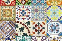 Azulejos Portugueses, diferentes Padrões